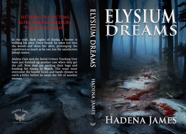 Elysium Dreams by Hadena James full cover
