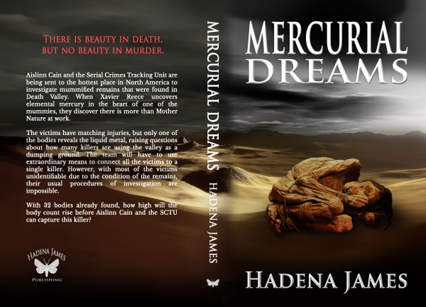 Mercurial Dreams by Hadena James Full Cover