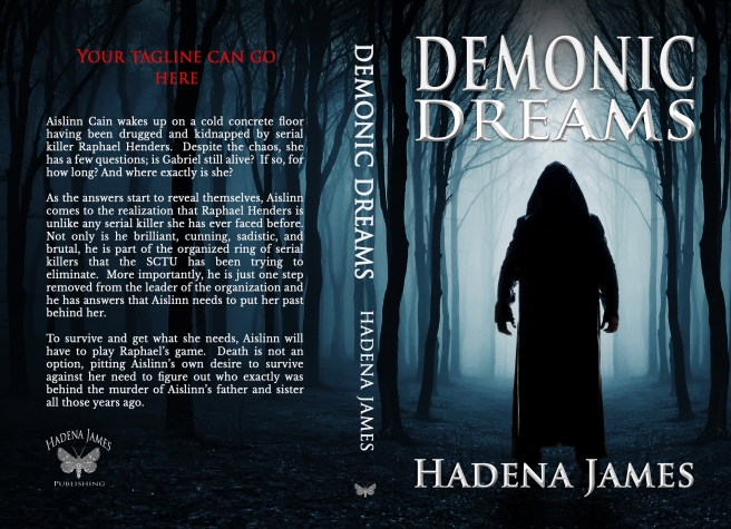 Demonic Dreams by Hadena James full cover